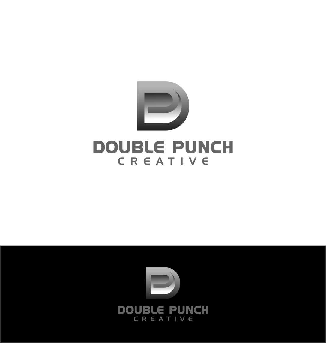 Logo Design by haidu - Entry No. 141 in the Logo Design Contest Unique Logo Design Wanted for Double Punch Creative.