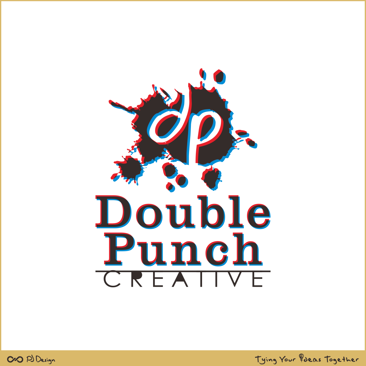 Logo Design by PJD - Entry No. 142 in the Logo Design Contest Unique Logo Design Wanted for Double Punch Creative.