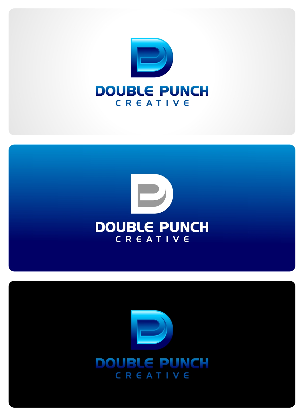 Logo Design by haidu - Entry No. 144 in the Logo Design Contest Unique Logo Design Wanted for Double Punch Creative.