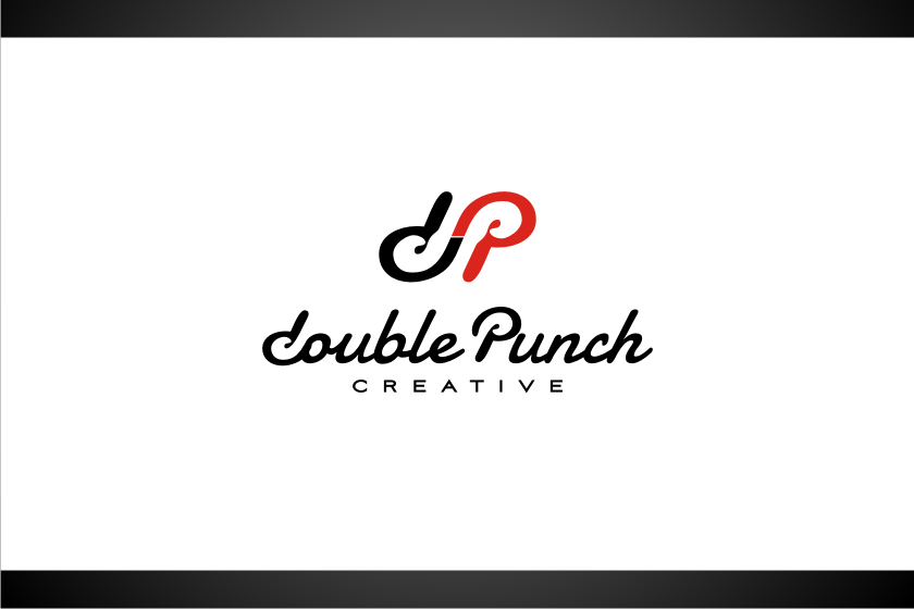 Logo Design by graphicleaf - Entry No. 146 in the Logo Design Contest Unique Logo Design Wanted for Double Punch Creative.