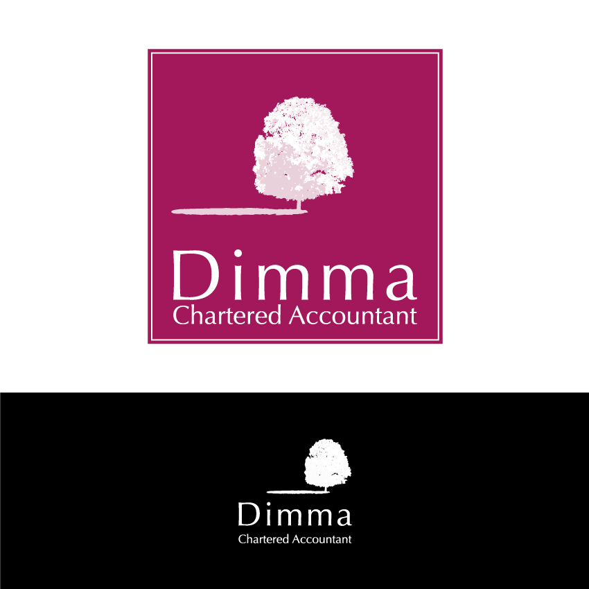 Logo Design by Kalinoe - Entry No. 157 in the Logo Design Contest Creative Logo Design for Dimma Chartered Accountant.