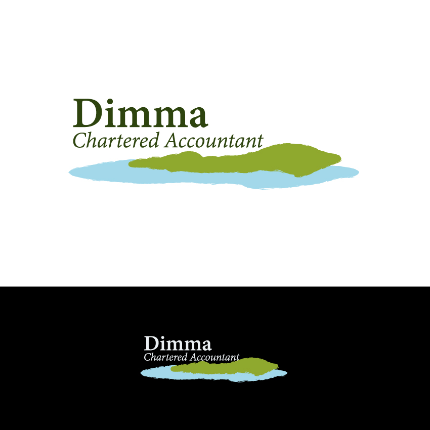 Logo Design by Kalinoe - Entry No. 158 in the Logo Design Contest Creative Logo Design for Dimma Chartered Accountant.