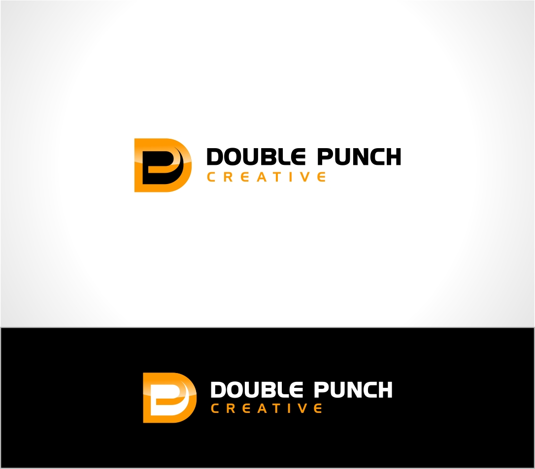 Logo Design by haidu - Entry No. 147 in the Logo Design Contest Unique Logo Design Wanted for Double Punch Creative.
