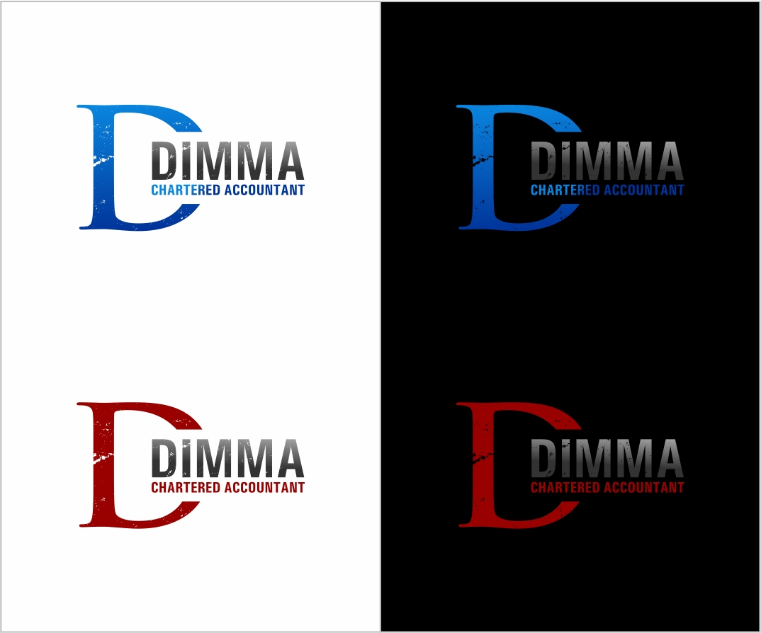 Logo Design by haidu - Entry No. 161 in the Logo Design Contest Creative Logo Design for Dimma Chartered Accountant.