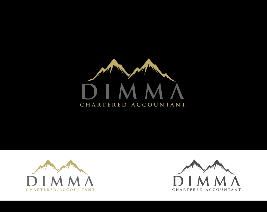 Logo Design by haidu - Entry No. 163 in the Logo Design Contest Creative Logo Design for Dimma Chartered Accountant.