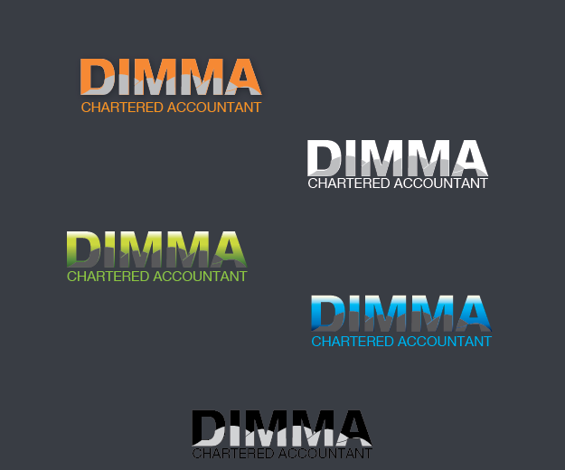 Logo Design by Digital Designs - Entry No. 164 in the Logo Design Contest Creative Logo Design for Dimma Chartered Accountant.