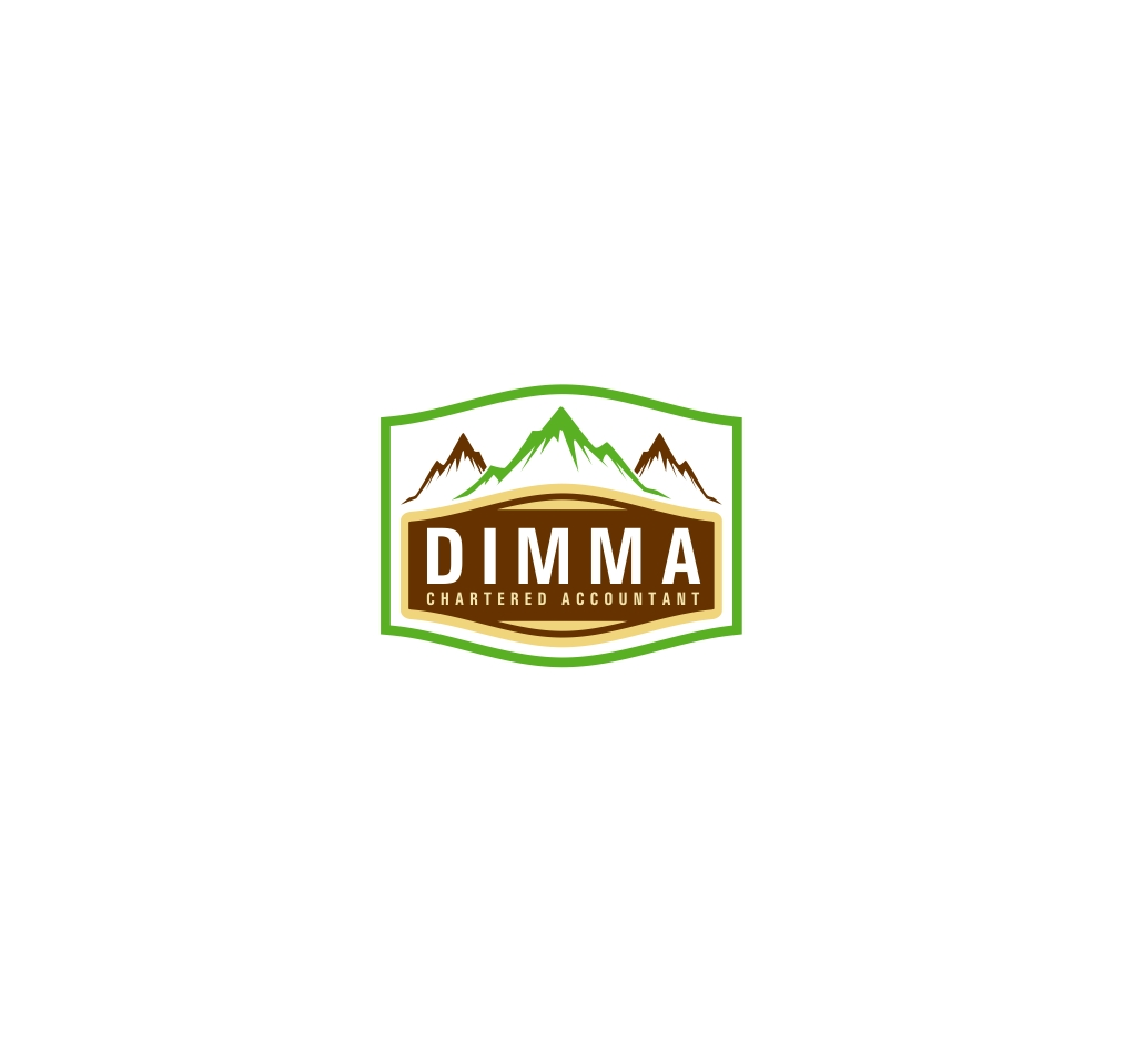 Logo Design by haidu - Entry No. 166 in the Logo Design Contest Creative Logo Design for Dimma Chartered Accountant.