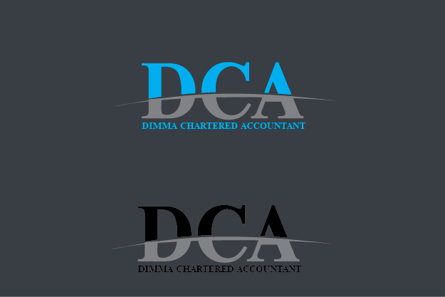 Logo Design by Private User - Entry No. 167 in the Logo Design Contest Creative Logo Design for Dimma Chartered Accountant.