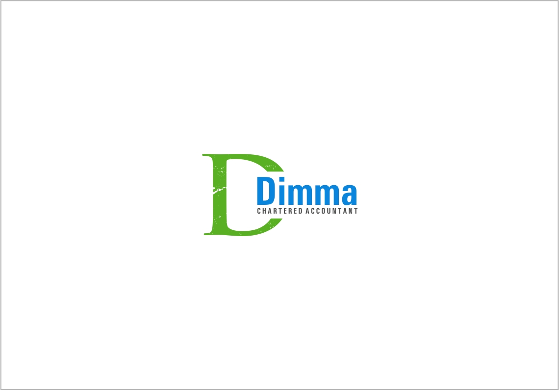 Logo Design by haidu - Entry No. 169 in the Logo Design Contest Creative Logo Design for Dimma Chartered Accountant.