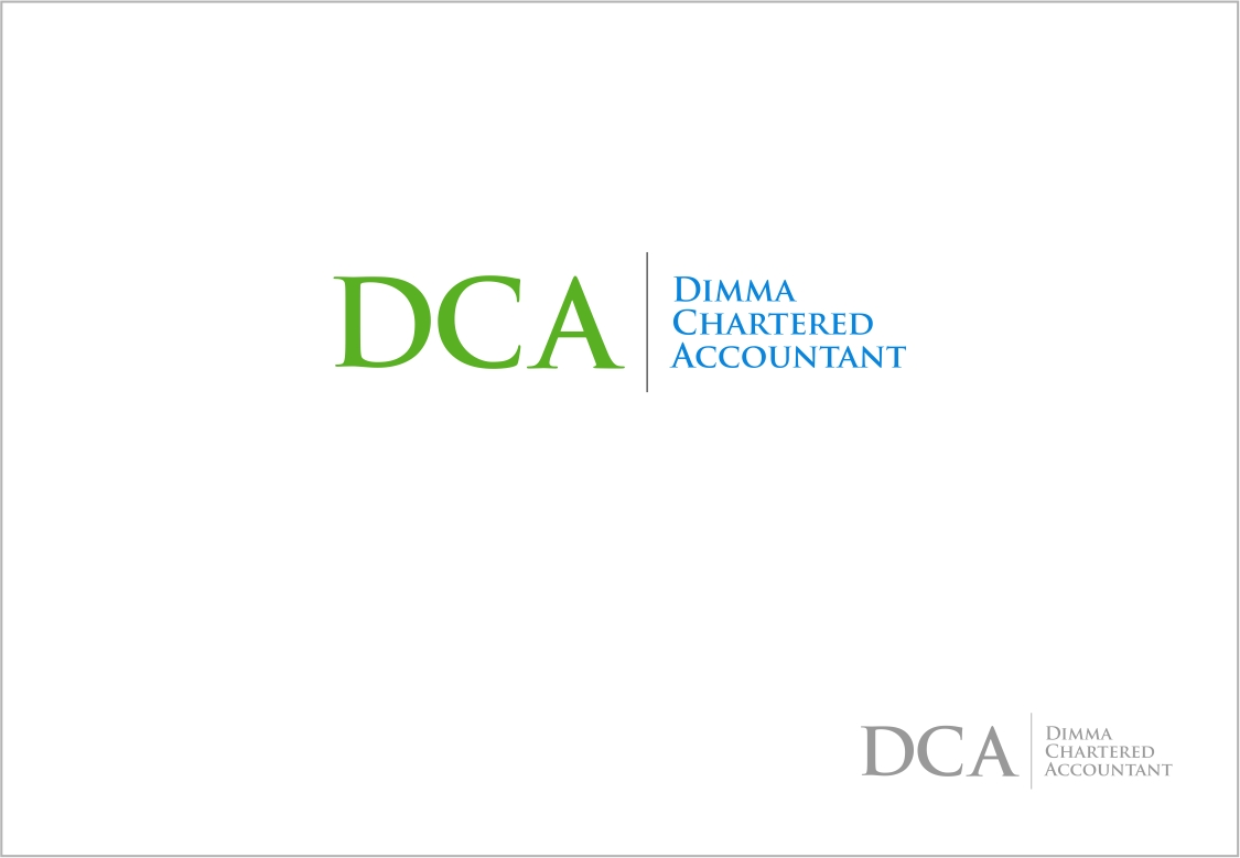 Logo Design by haidu - Entry No. 170 in the Logo Design Contest Creative Logo Design for Dimma Chartered Accountant.