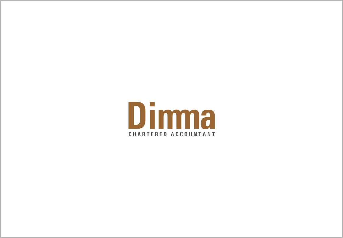 Logo Design by haidu - Entry No. 171 in the Logo Design Contest Creative Logo Design for Dimma Chartered Accountant.