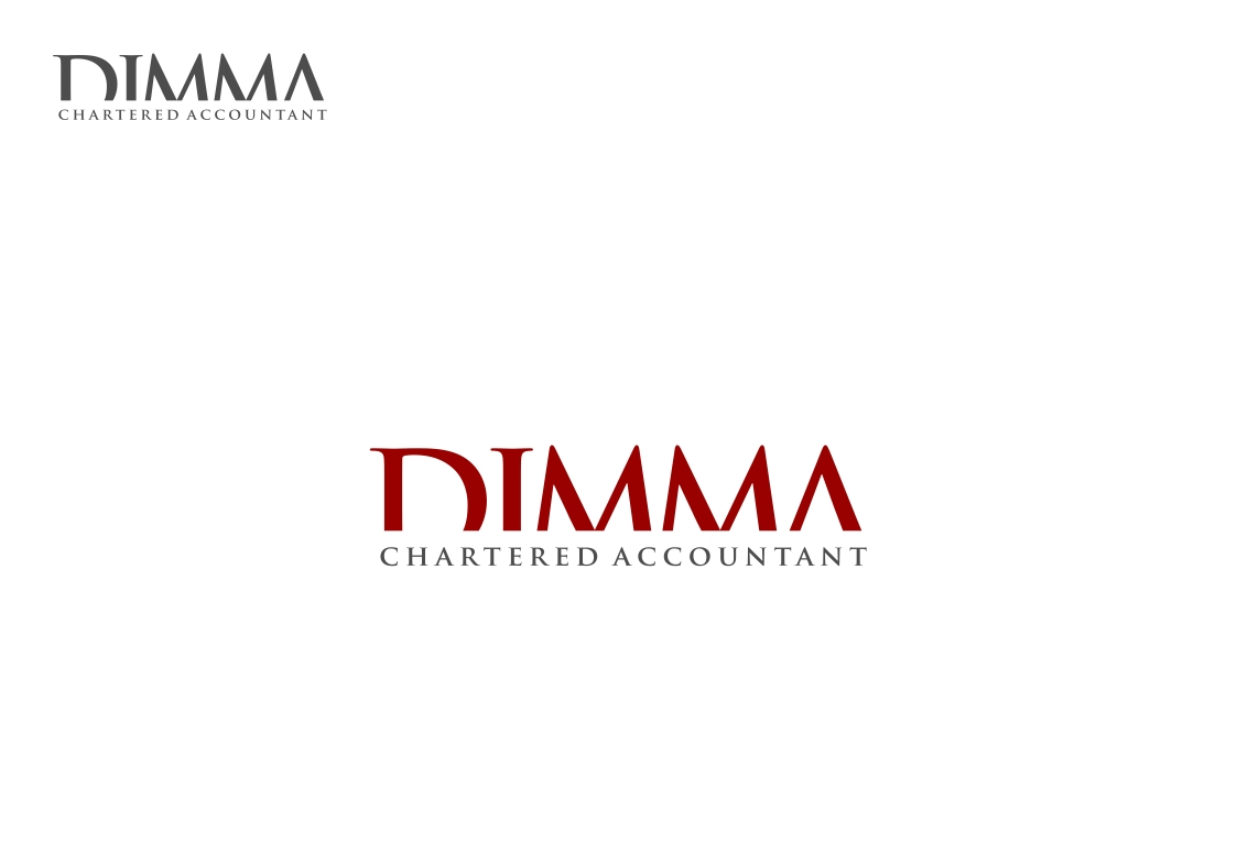 Logo Design by haidu - Entry No. 172 in the Logo Design Contest Creative Logo Design for Dimma Chartered Accountant.