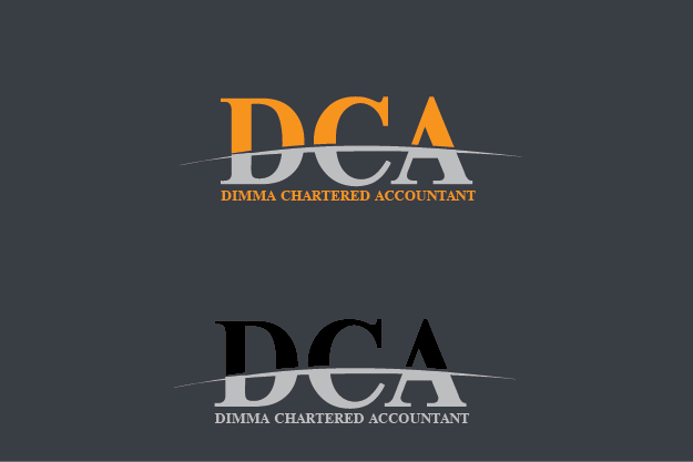 Logo Design by Private User - Entry No. 173 in the Logo Design Contest Creative Logo Design for Dimma Chartered Accountant.