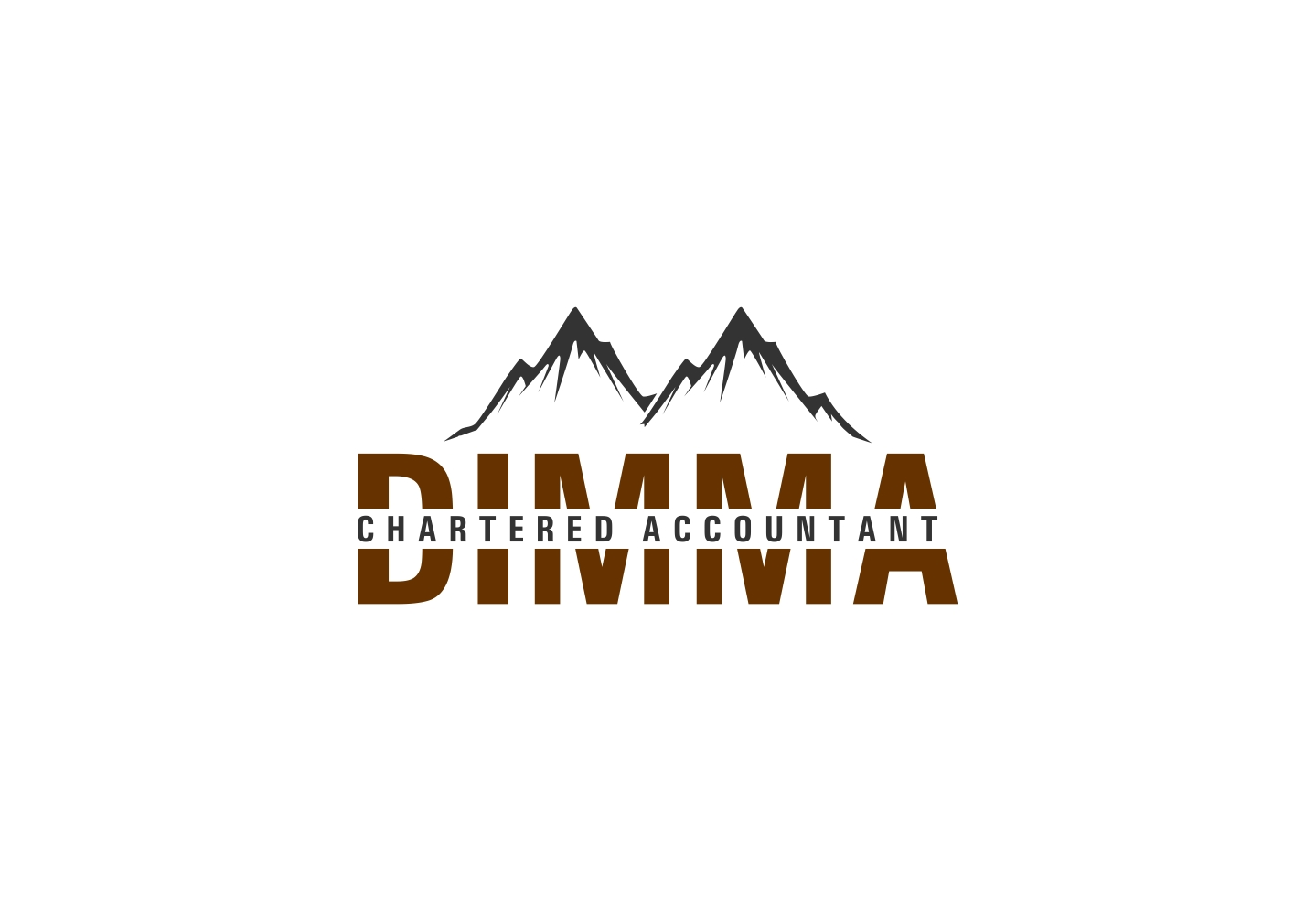 Logo Design by haidu - Entry No. 175 in the Logo Design Contest Creative Logo Design for Dimma Chartered Accountant.