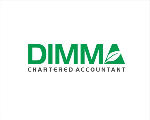 Logo Design by ronny - Entry No. 176 in the Logo Design Contest Creative Logo Design for Dimma Chartered Accountant.
