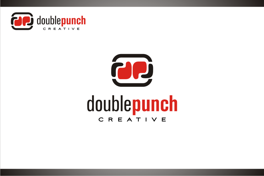 Logo Design by graphicleaf - Entry No. 159 in the Logo Design Contest Unique Logo Design Wanted for Double Punch Creative.