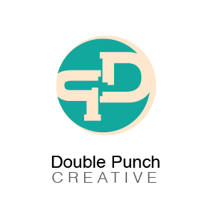 Logo Design by Perla Salem - Entry No. 162 in the Logo Design Contest Unique Logo Design Wanted for Double Punch Creative.