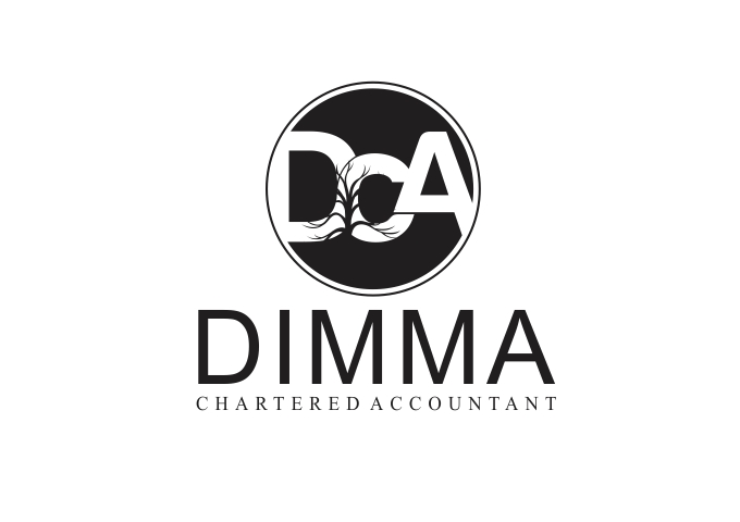 Logo Design by Rizwan Saeed - Entry No. 181 in the Logo Design Contest Creative Logo Design for Dimma Chartered Accountant.