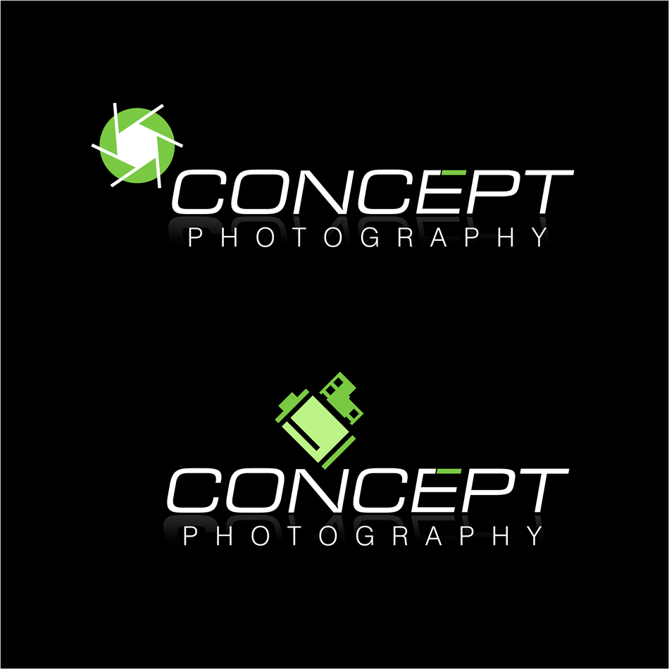 Logo Design by xenowebdev - Entry No. 104 in the Logo Design Contest Concept Photography Inc..