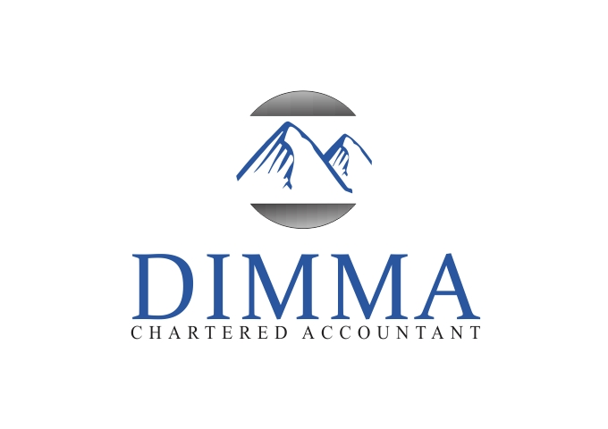 Logo Design by Rizwan Saeed - Entry No. 185 in the Logo Design Contest Creative Logo Design for Dimma Chartered Accountant.
