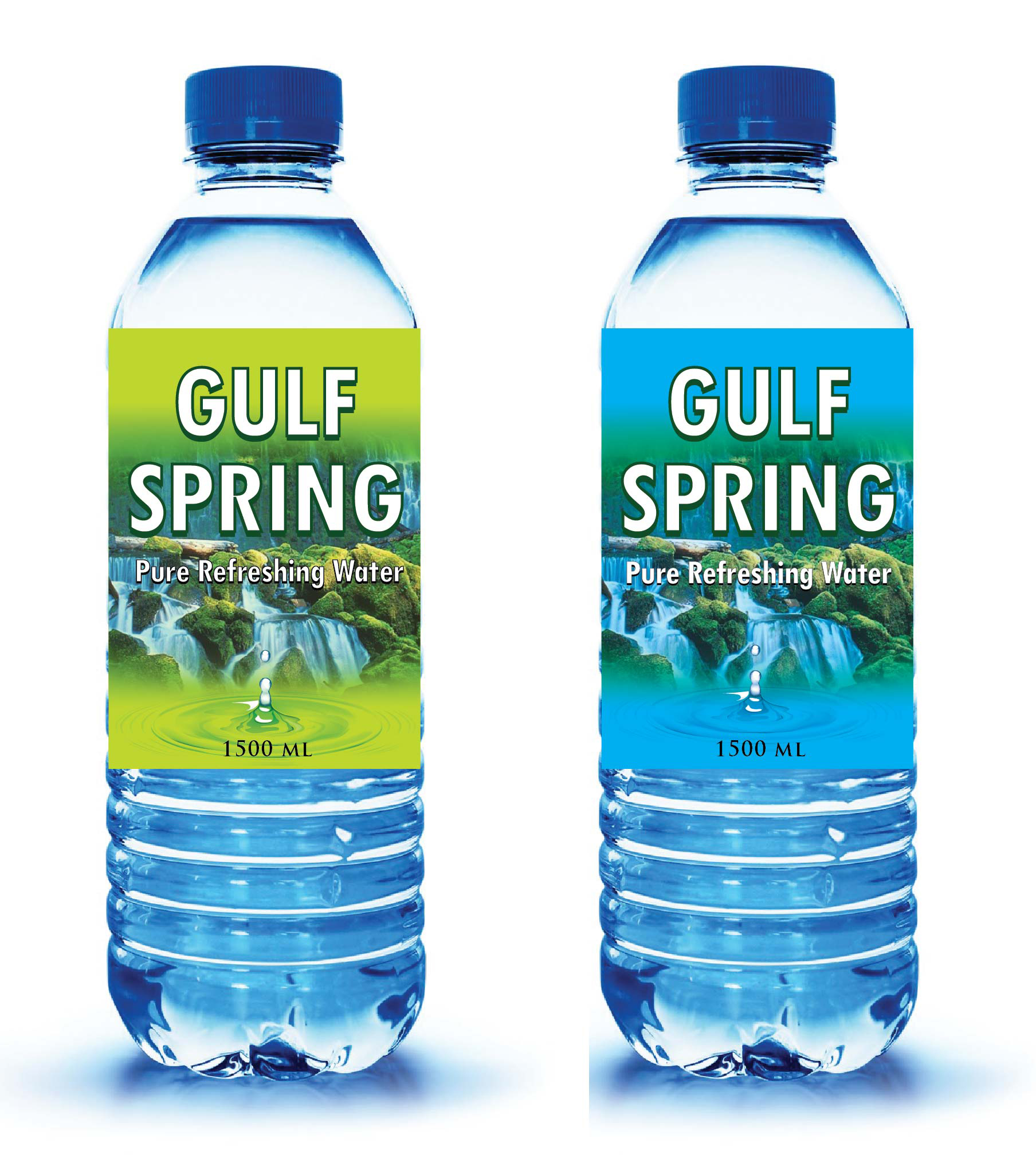 Logo Design by Mahida Kirit Chandrasinh - Entry No. 47 in the Logo Design Contest Inspiring Logo Design for Gulf Spring.