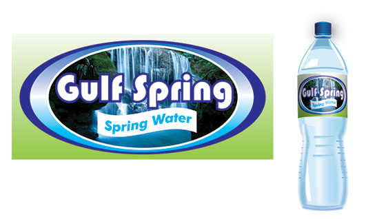 Logo Design by Mohamed Sheikh - Entry No. 50 in the Logo Design Contest Inspiring Logo Design for Gulf Spring.