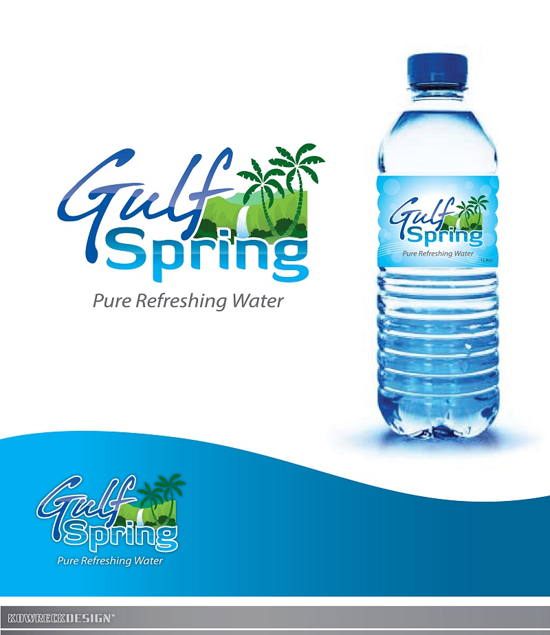 Logo Design by kowreck - Entry No. 52 in the Logo Design Contest Inspiring Logo Design for Gulf Spring.
