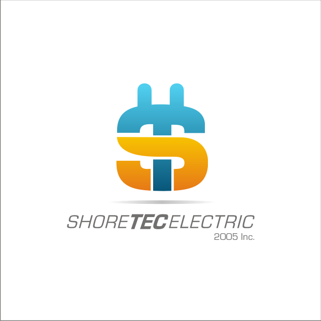 Logo Design by key - Entry No. 63 in the Logo Design Contest Shore Tec Electric 2005 Inc.