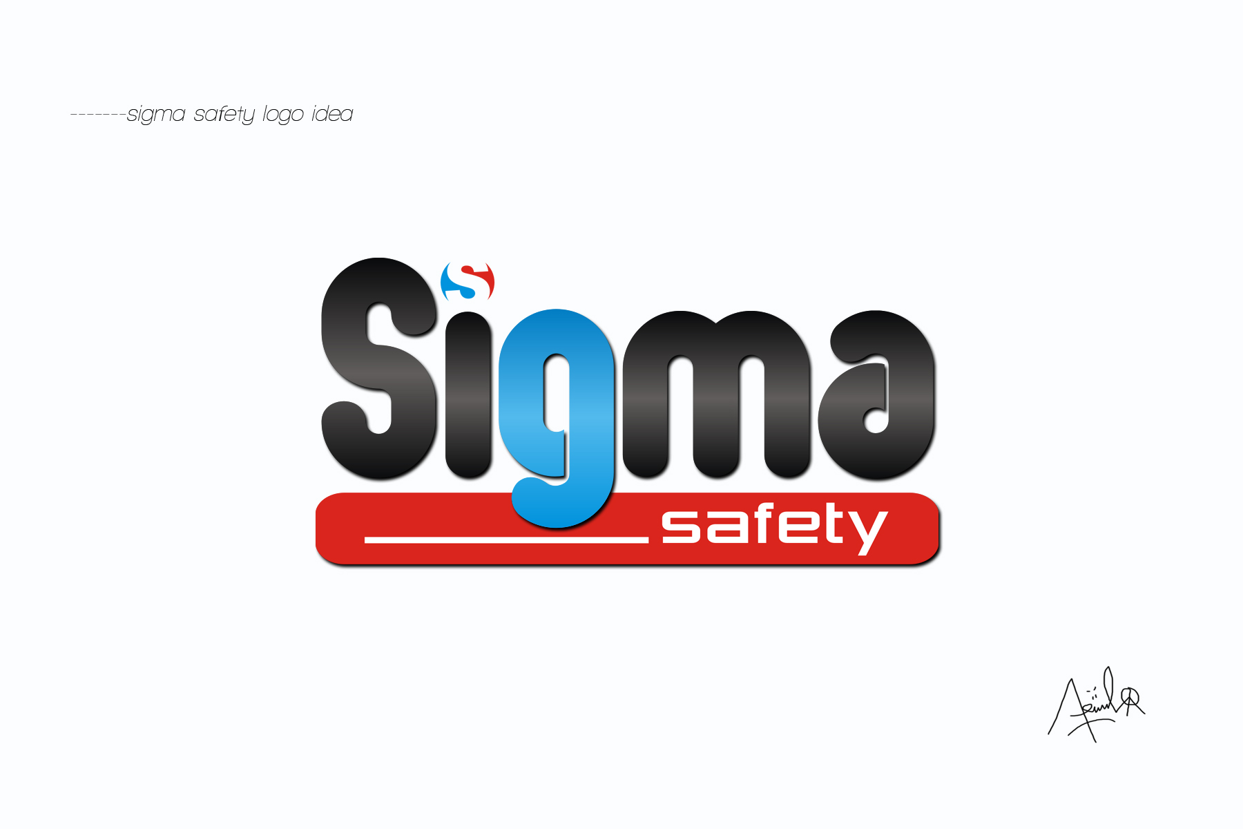 Logo Design by Riif Mike shinoda - Entry No. 161 in the Logo Design Contest Creative Logo Design for Sigma Safety Corporation.