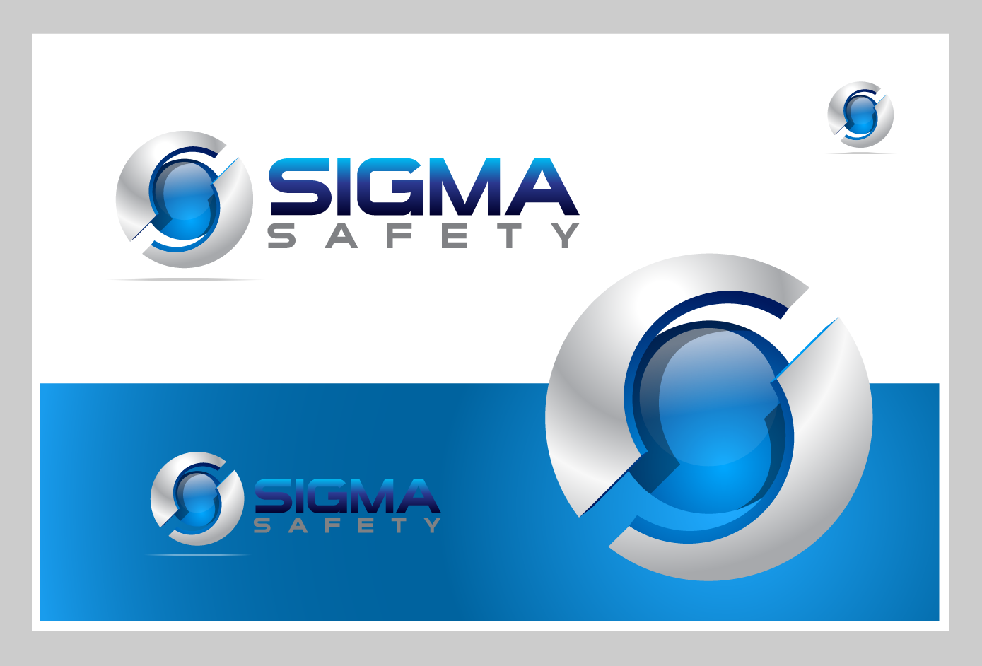 Logo Design by Private User - Entry No. 179 in the Logo Design Contest Creative Logo Design for Sigma Safety Corporation.