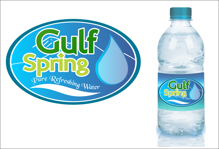 Logo Design by RasYa Muhammad Athaya - Entry No. 60 in the Logo Design Contest Inspiring Logo Design for Gulf Spring.