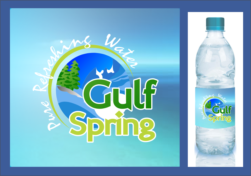 Logo Design by RasYa Muhammad Athaya - Entry No. 62 in the Logo Design Contest Inspiring Logo Design for Gulf Spring.