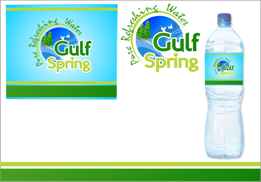 Logo Design by Ngepet_art - Entry No. 64 in the Logo Design Contest Inspiring Logo Design for Gulf Spring.