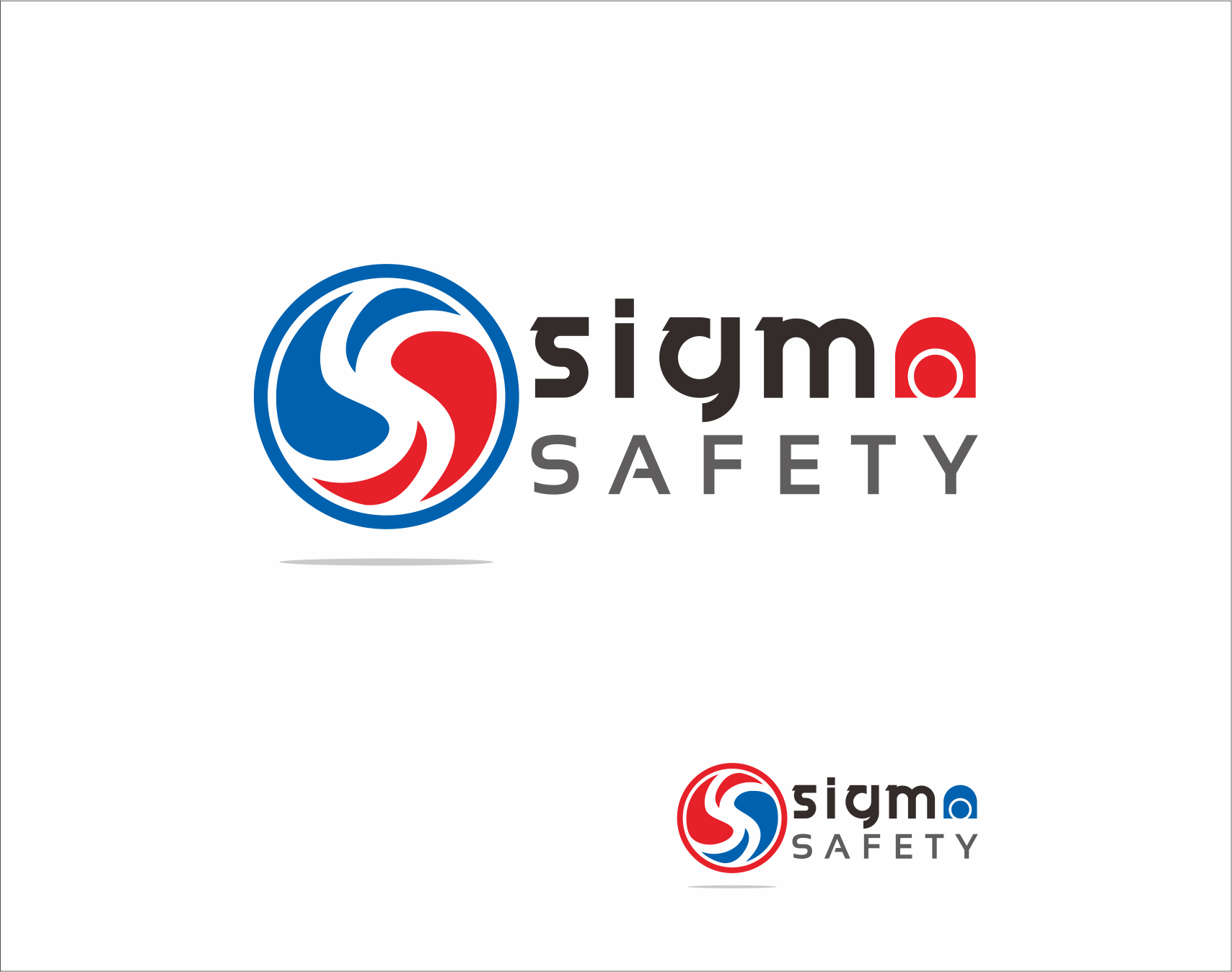 Logo Design by Armada Jamaluddin - Entry No. 187 in the Logo Design Contest Creative Logo Design for Sigma Safety Corporation.