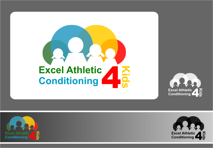 Logo Design by RasYa Muhammad Athaya - Entry No. 1 in the Logo Design Contest Artistic Logo Design for Excel Athletic Conditioning 4 kids.