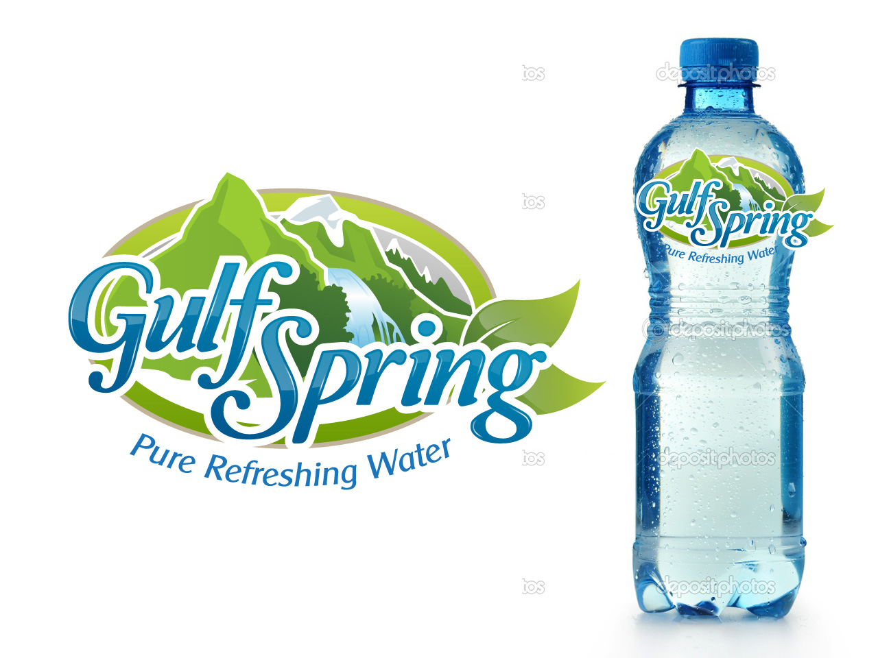 Logo Design by jpbituin - Entry No. 65 in the Logo Design Contest Inspiring Logo Design for Gulf Spring.