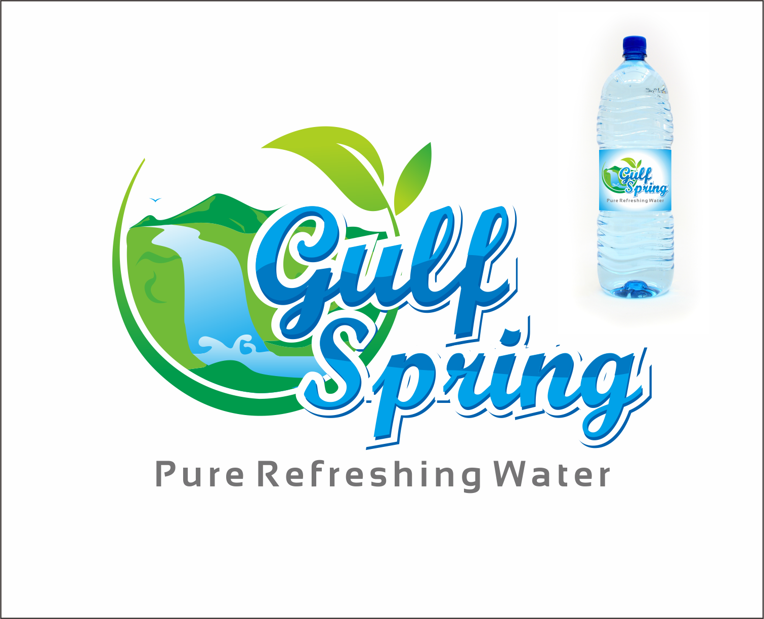 Logo Design by Armada Jamaluddin - Entry No. 66 in the Logo Design Contest Inspiring Logo Design for Gulf Spring.