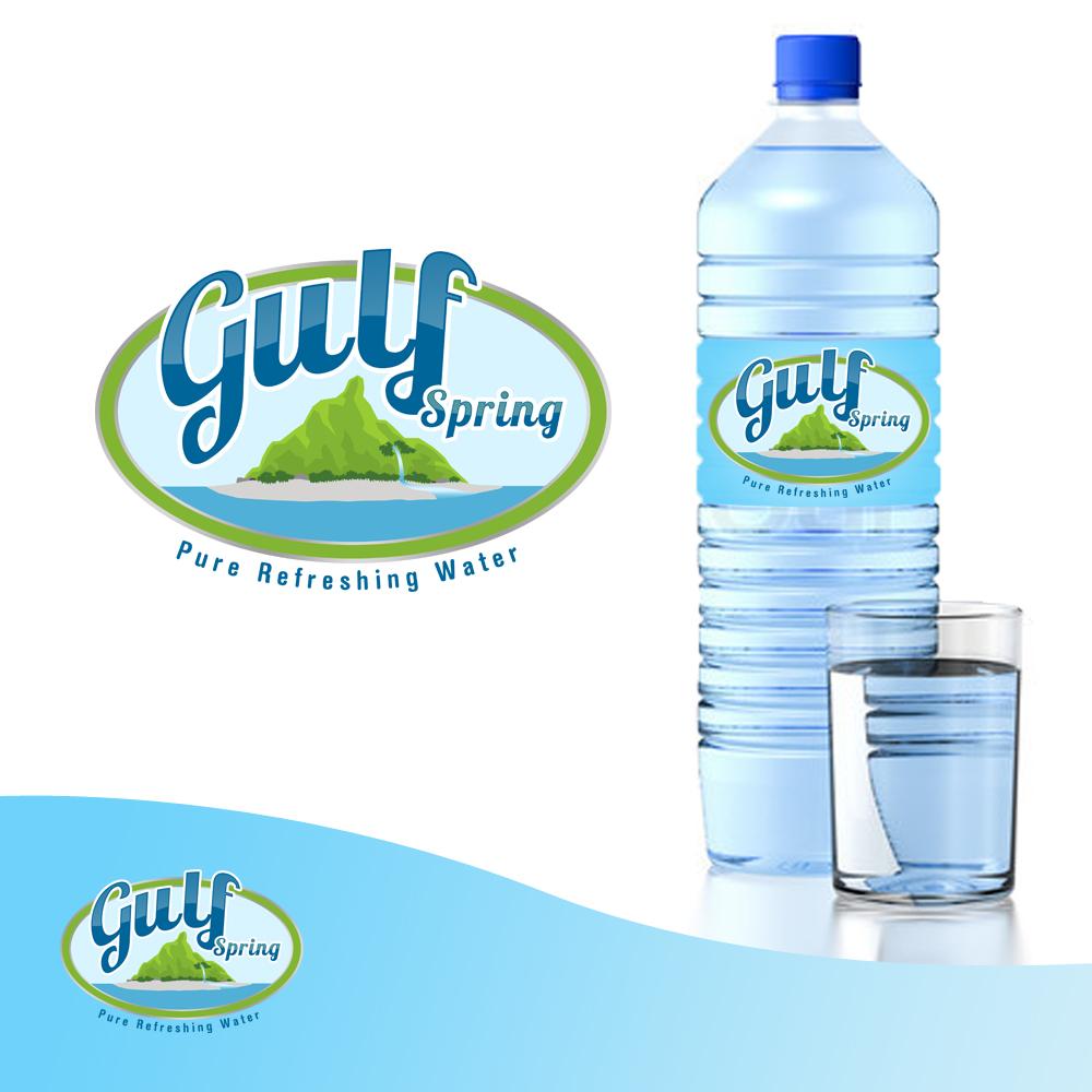 Logo Design by omARTist - Entry No. 70 in the Logo Design Contest Inspiring Logo Design for Gulf Spring.
