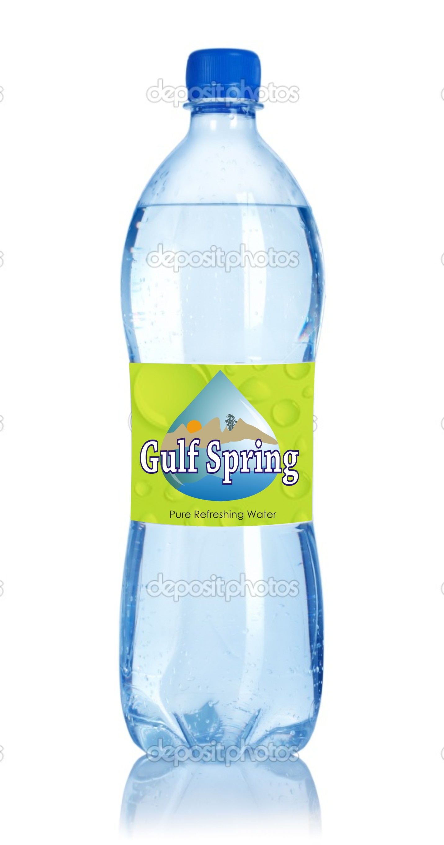 Logo Design by Mahida Kirit Chandrasinh - Entry No. 71 in the Logo Design Contest Inspiring Logo Design for Gulf Spring.