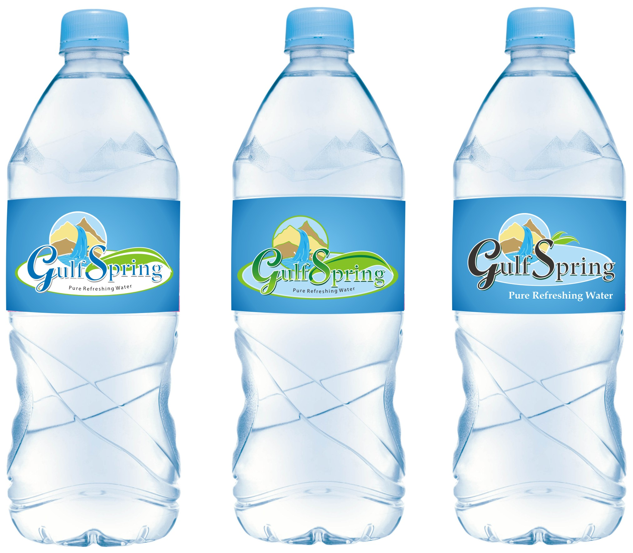 Logo Design by Mahida Kirit Chandrasinh - Entry No. 72 in the Logo Design Contest Inspiring Logo Design for Gulf Spring.