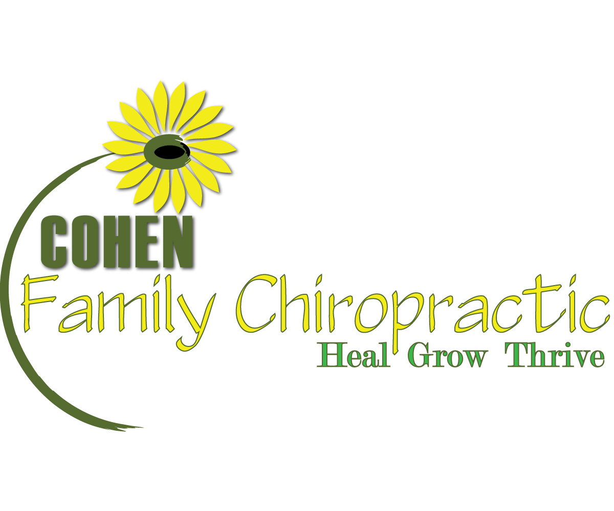 Logo Design by Diana Roder - Entry No. 13 in the Logo Design Contest Unique Logo Design Wanted for Cohen Family Chiropractic.