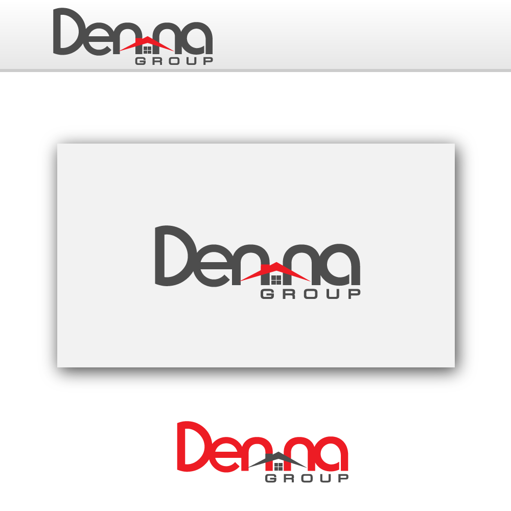 Logo Design by rockin - Entry No. 2 in the Logo Design Contest Denna Group Logo Design.