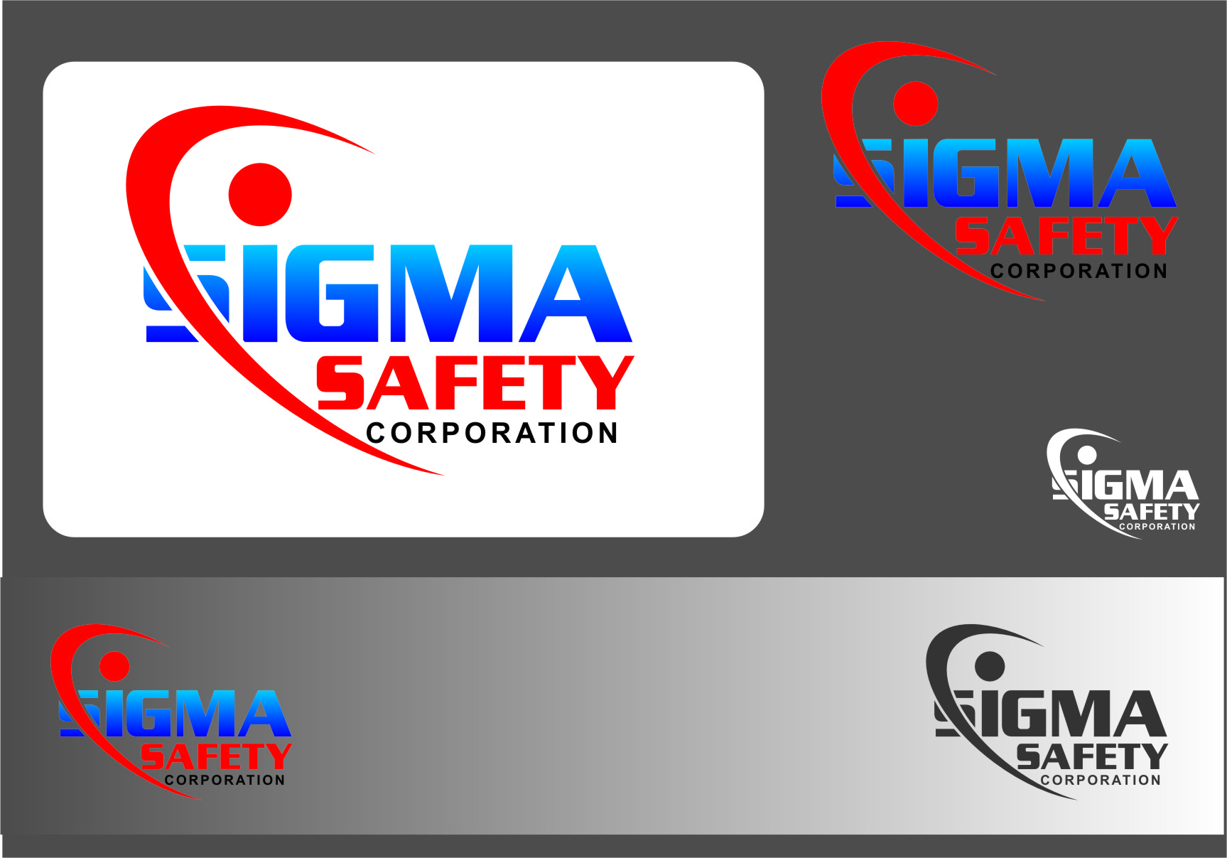 Logo Design by RasYa Muhammad Athaya - Entry No. 204 in the Logo Design Contest Creative Logo Design for Sigma Safety Corporation.
