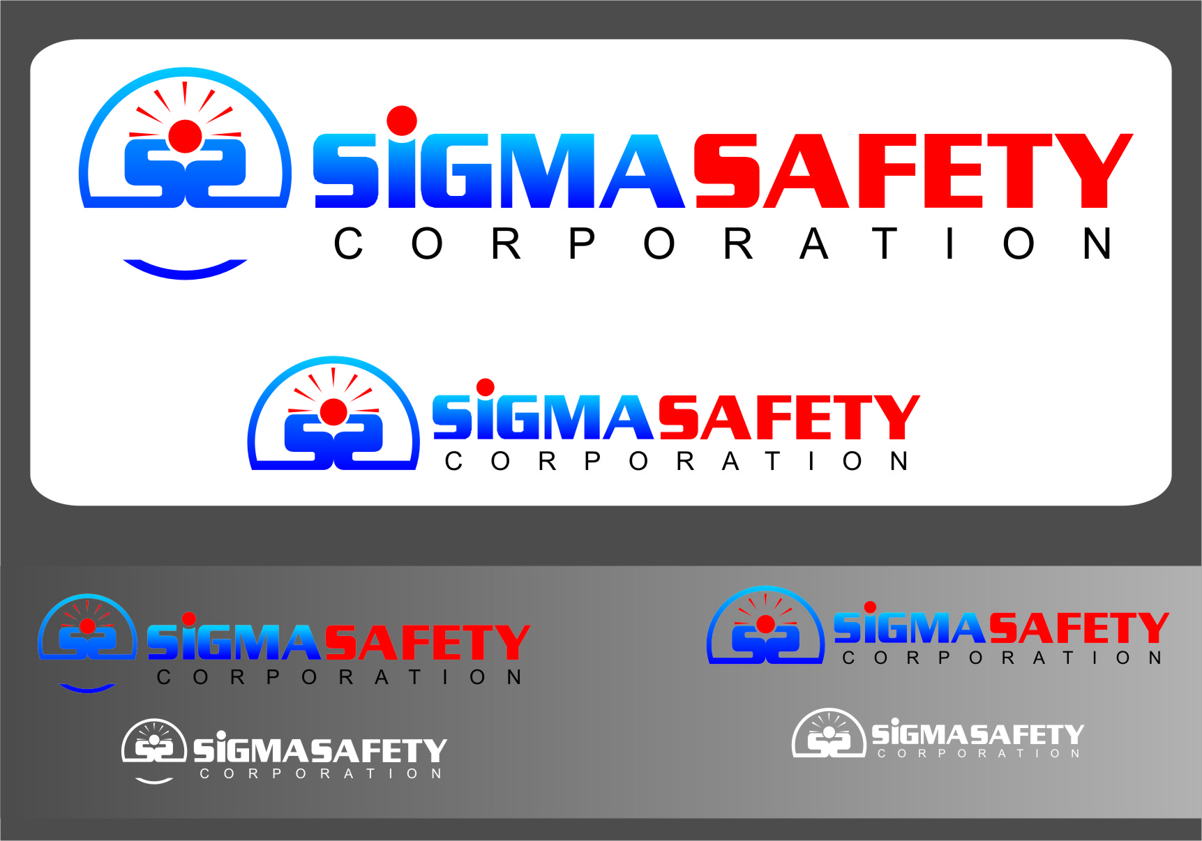 Logo Design by RasYa Muhammad Athaya - Entry No. 207 in the Logo Design Contest Creative Logo Design for Sigma Safety Corporation.