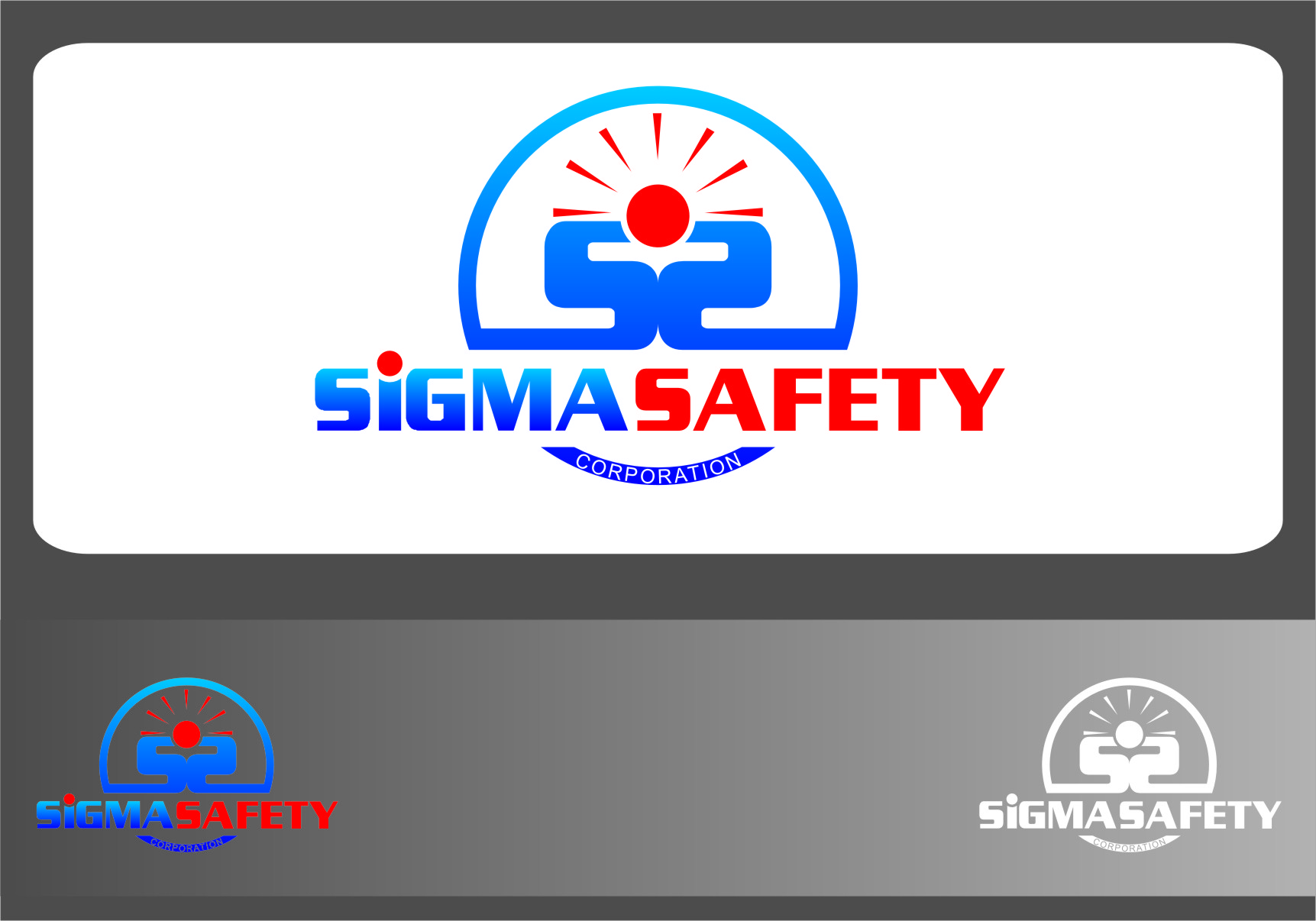 Logo Design by RasYa Muhammad Athaya - Entry No. 209 in the Logo Design Contest Creative Logo Design for Sigma Safety Corporation.