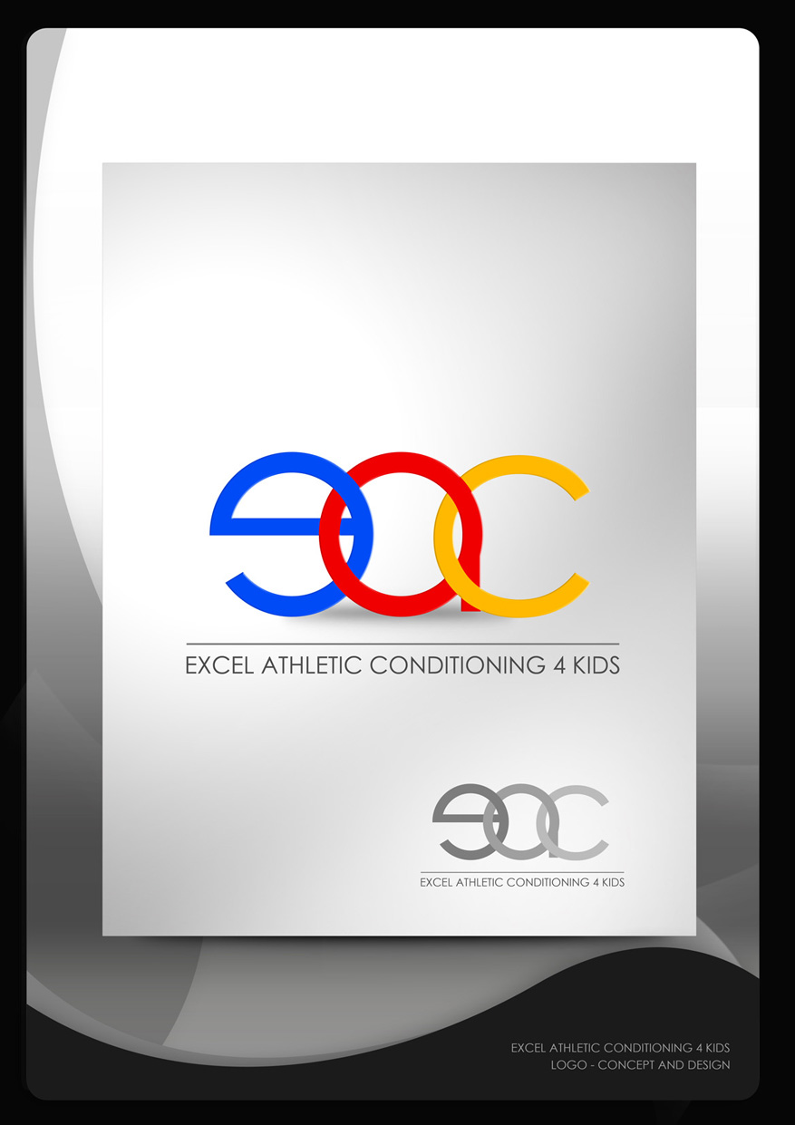Logo Design by Mark Anthony Moreto Jordan - Entry No. 7 in the Logo Design Contest Artistic Logo Design for Excel Athletic Conditioning 4 kids.