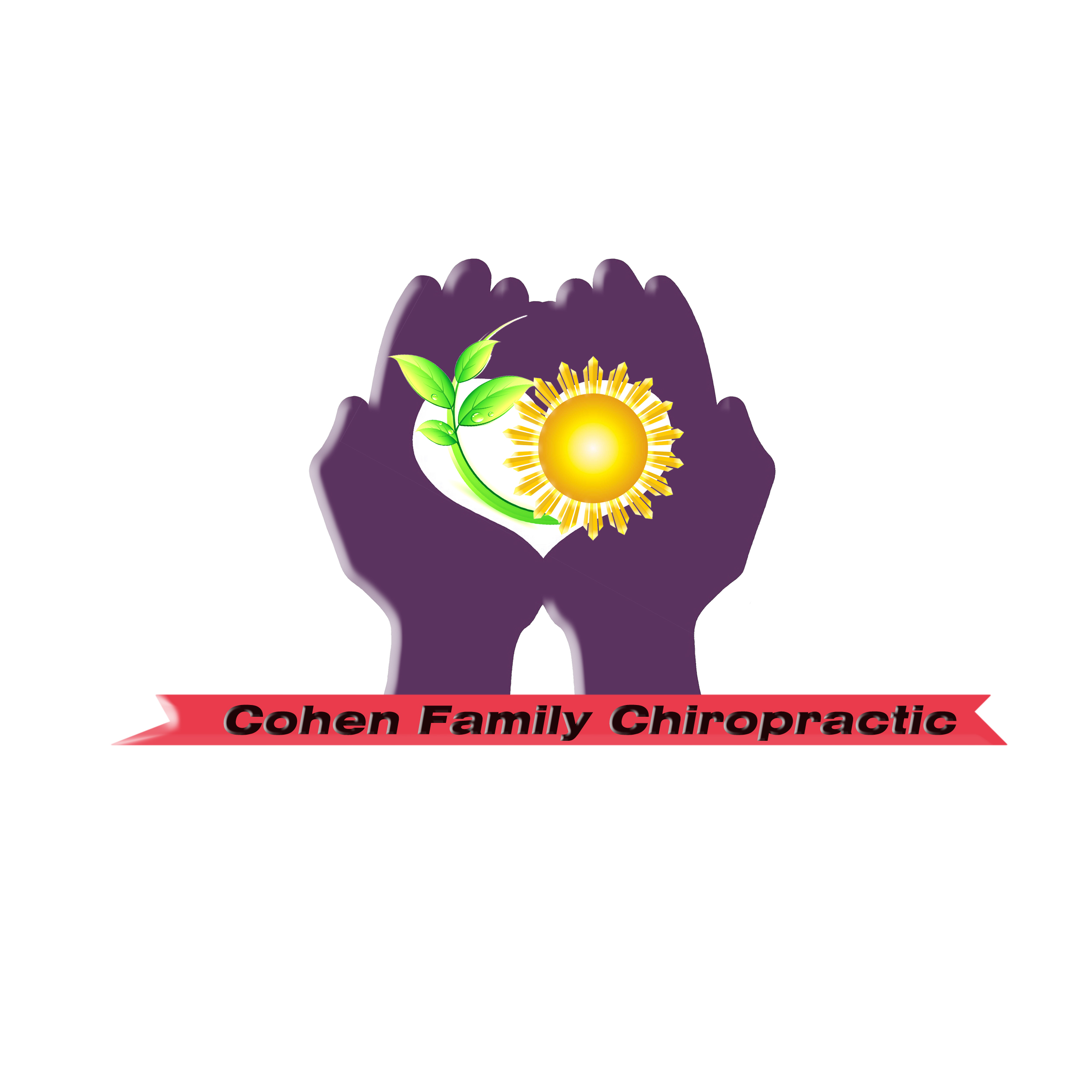 Logo Design by Roberto Sibbaluca - Entry No. 16 in the Logo Design Contest Unique Logo Design Wanted for Cohen Family Chiropractic.