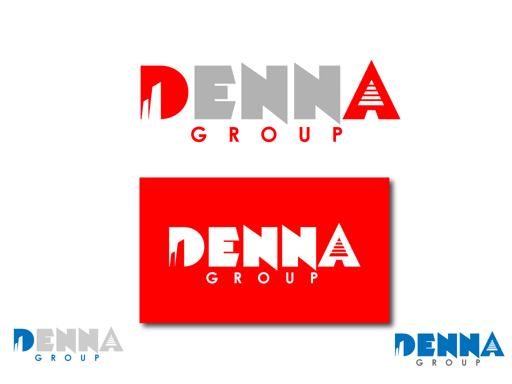 Logo Design by Jagdeep Singh - Entry No. 12 in the Logo Design Contest Denna Group Logo Design.