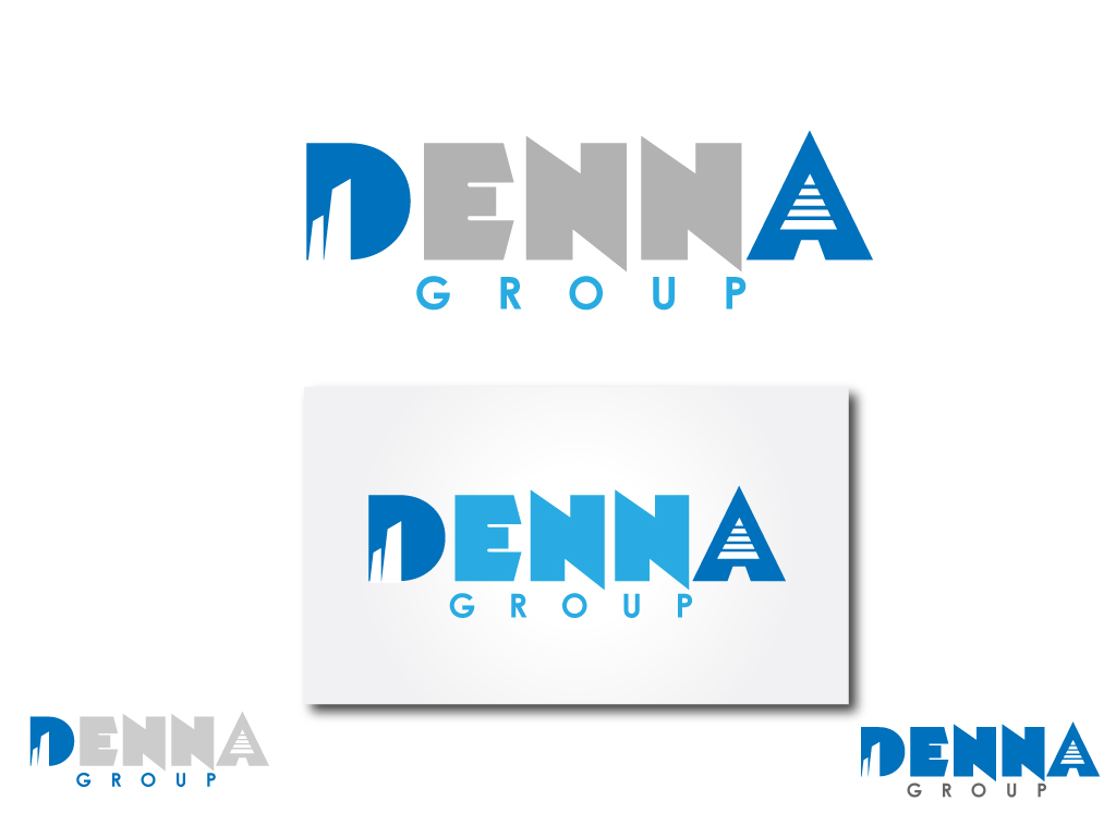 Logo Design by Jagdeep Singh - Entry No. 13 in the Logo Design Contest Denna Group Logo Design.