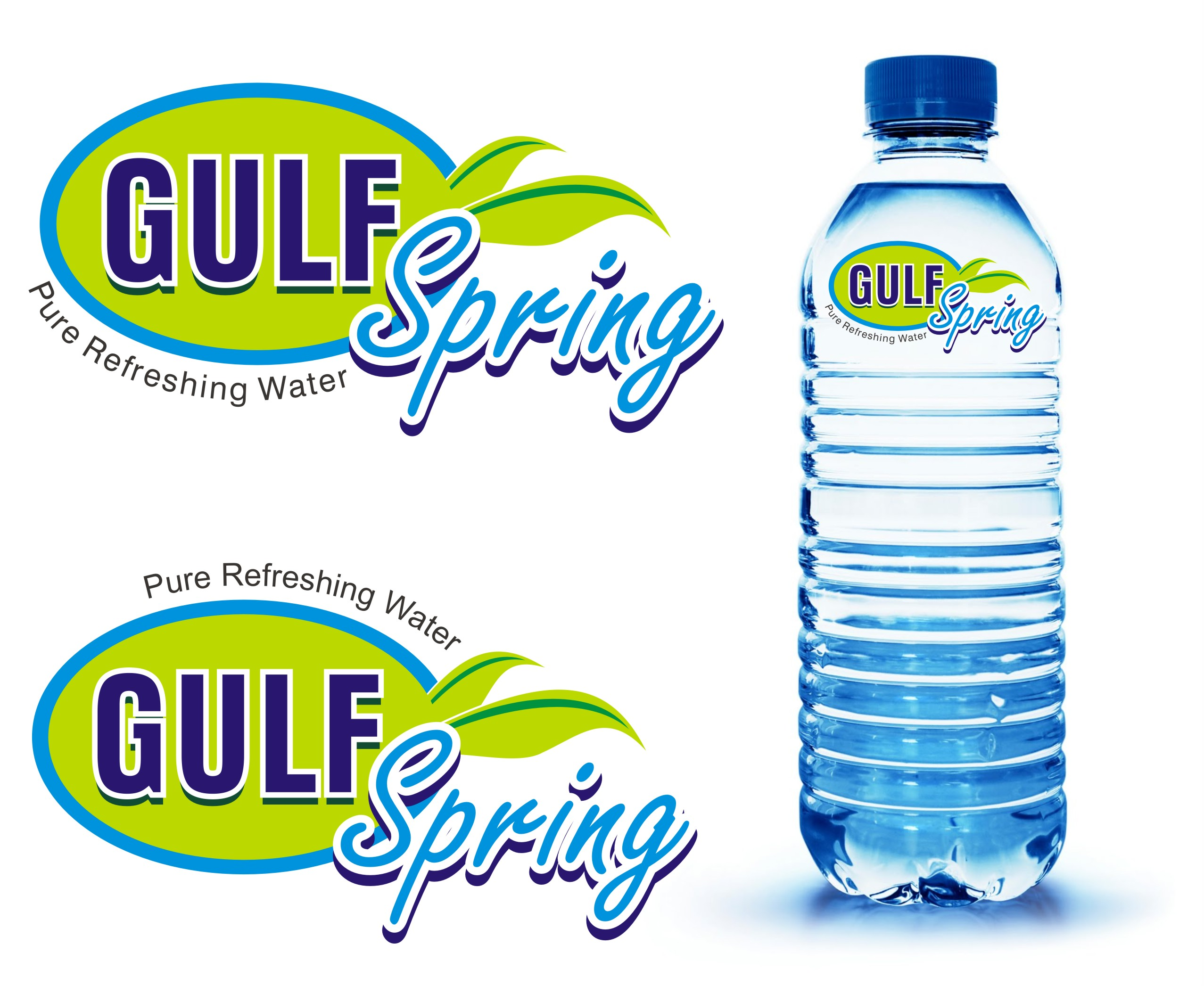 Logo Design by Mahida Kirit Chandrasinh - Entry No. 76 in the Logo Design Contest Inspiring Logo Design for Gulf Spring.